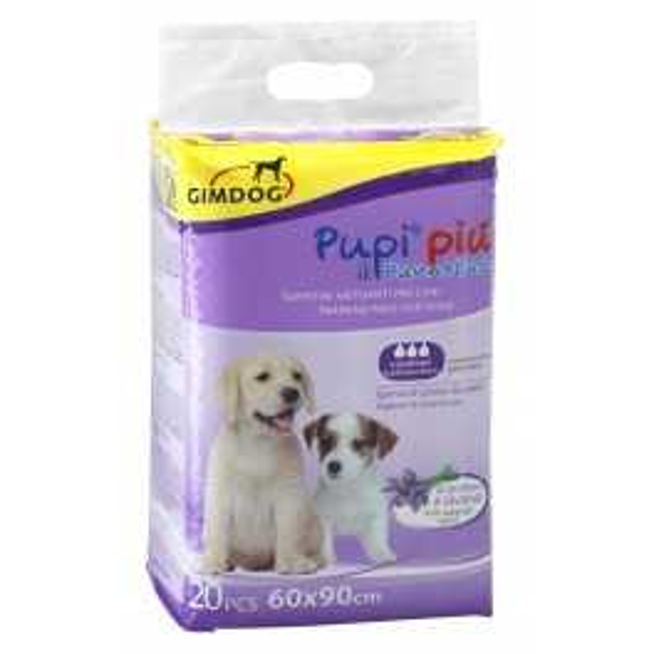 Tappetini Igienici Per Cani Pupi Più Al Profumo Di Lavanda 60x90 Cm