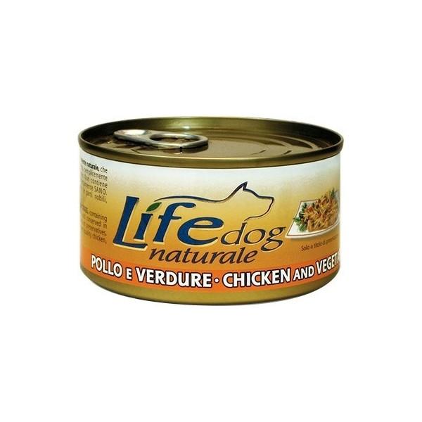 LifeDog Pollo E Verdure 170 Gr