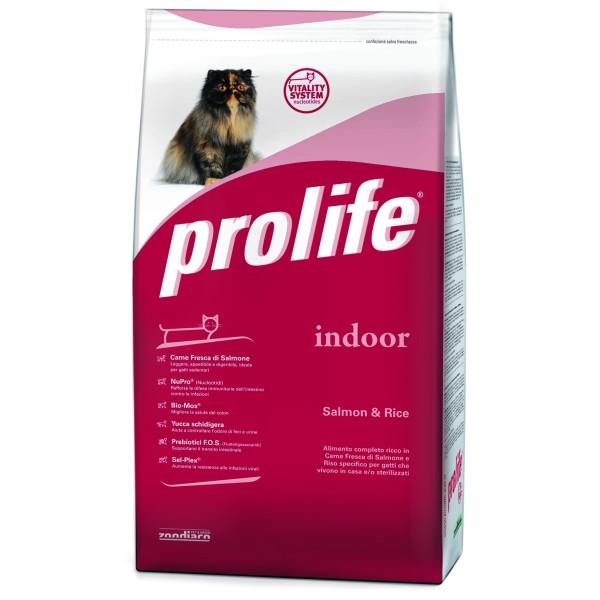 Prolife Indoor per gatti sterilizzati o che vivono in casa