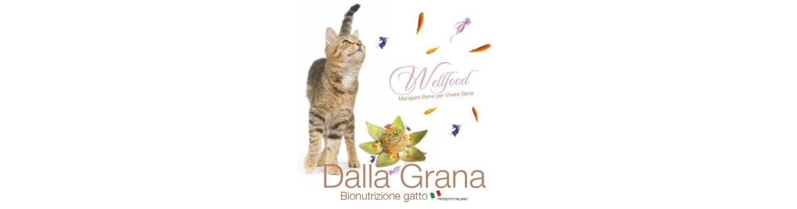 Scopri le specifiche sugli alimenti umidi Dalla Grana Officinalis per gatti