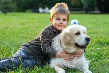 Preoccupazioni sulla salute del bambino quando c'è un cane