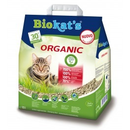 Lettiera naturale e biocompatibile Biokat's Organic 10 lt