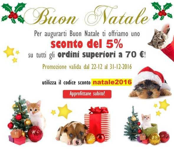 Buono sconto di Natale da Pet Shop Store