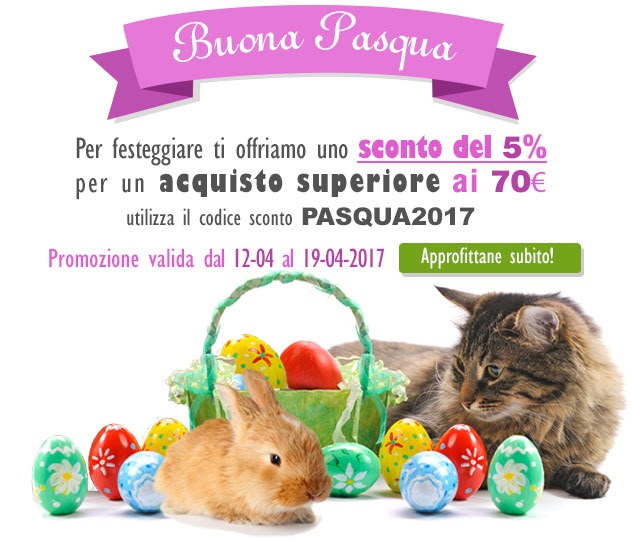 Sconto Pasqua 2017 Pet Shop Store