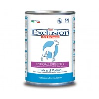 Exclusion Diet Hypoallergenic umido Pesce e Patate 400g