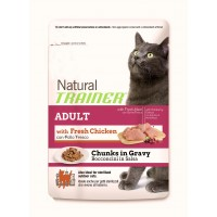 Feline Natural Trainer umido Adult Pollo busta 85 gr