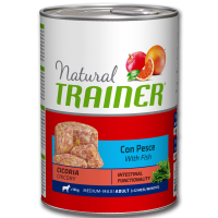 Trainer Natural Medium/Maxi alimenti umidi Pesce 400g