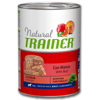 Trainer Natural Medium/Maxi alimenti umidi Manzo