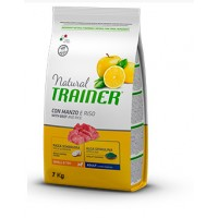 Trainer Natural Adult Mini con Manzo e Riso 7 kg