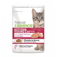 Trainer Natural Feline umido Kitten busta 85 gr