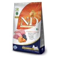 Farmina N&D Grain Free Zucca Agnello e Mirtillo Adult mini kg. 7 (GRATIS SPEDIZIONE)