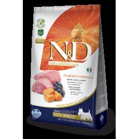 Farmina N&D Grain Free Zucca Agnello e Mirtillo Adult mini kg. 7 (GRATIS SPEDIZIONE)
