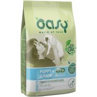 Oasy crocchette cane Puppy & Junior Medium 12 Kg