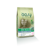 Oasy crocchette cane Adult Medium Agnello e Pollo 12 Kg