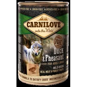 Cibo umido cane Carnilove Anatra e Fagiano Adult 400 gr