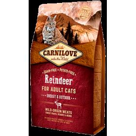Carnilove Cat Renna Adult – Energy & Outdoor 6 kg (GRATIS SPEDIZIONE)