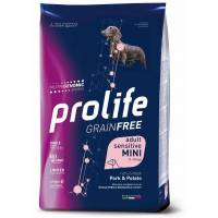 Prolife Sensitive Mini Grain Free Maiale e Patate 12 kg (GRATIS SPEDIZIONE)
