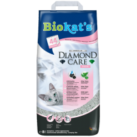 Lettiera per gatti Carbone attivo/Aloe Vera Biokat's Diamond Care Fresh 8 Lt