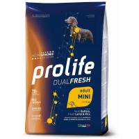 Crocchette  Prolife Dual Fresh Adult Agnello Bufalo e Riso Mini 2,5 Kg
