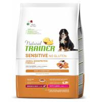 Trainer Natural Sensitive Puppy & Junior Medium/Maxi Salmone e Cereali integrali