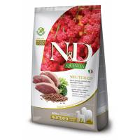 Farmina N&D Grain Free Quinoa Neutered Medium/Maxi 12 kg (GRATIS SPEDIZIONE)