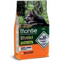 Monge BWild Grain Free Anatra e Patate Puppy & Junior all breeds 12 kg (GRATIS SPEDIZIONE)
