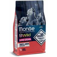Monge BWild Low Grain Cervo Puppy & Junior all breeds 12 kg (GRATIS SPEDIZIONE)