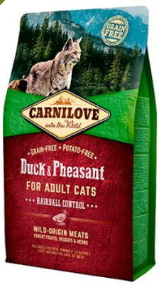 Carnilove Cat Anatra & Fagiano Adult