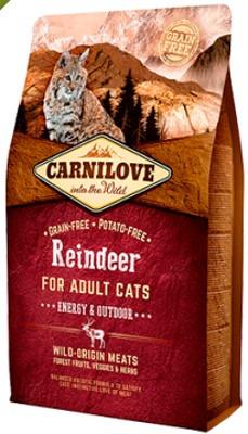 Energy & Outdoor, l'alimento Carnilove per i gatti molto attivi