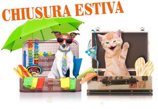 chiusura estiva Pet Shop Store dal 14/08 al 25/08
