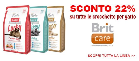 offerta crocchette gatto Brit Care