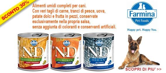 Farmina N&D cibo umido per cani offerta