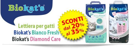 Lettiere gatto Biokat's offerta