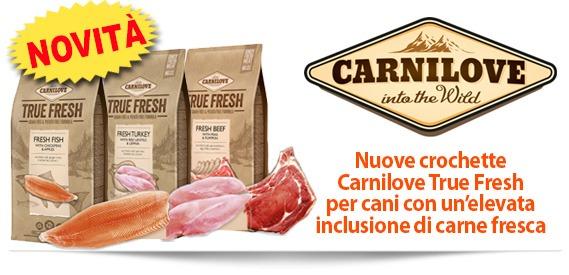 Novità: crocchette cane Carnilove True Fresh