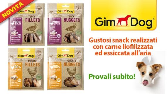 Novità Snack per cani GimDog