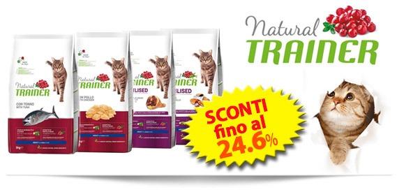 Trainer Natural gatto sconti fino al 24.6%