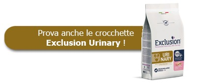 Prova anche le crocchette Exclusion Veterinary Diet Urinary 12 kg