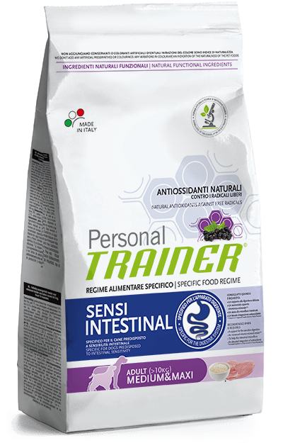 crocchette Personal Trainer Cane Sensintestinal medium/maxi