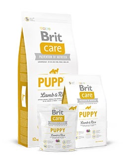 crocchette Brit Care Puppy Agnello e Riso
