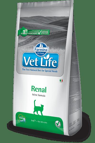 Farmina Vet Life Renal feline, alimentazione gatto insufficienza renale