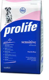 Le soluzioni Prolife: Sensitive e Sensitive Grain Free