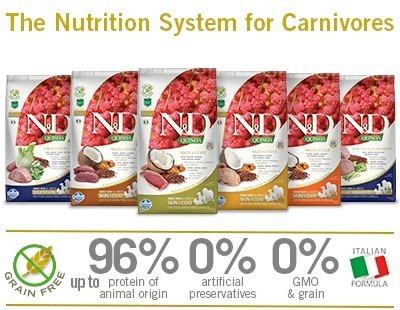 Le crocchette per cani alla quinoa: le Farmina N&D Grain Free