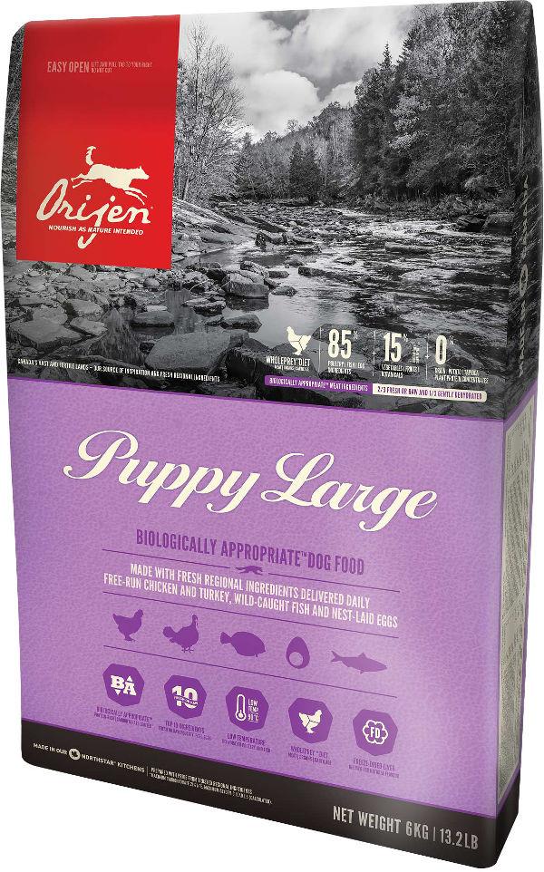 Crocchette Orijen Puppy Large per cani