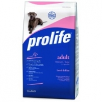 Prolife Adult Medium/Large Agnello e Riso 12 kg