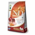 Nuovo prodotto le Farmina N&D Grain Free Zucca Adult e Puppy Mini Pollo e Melograno kg 7