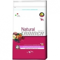 Offerta doppio sacco Trainer Natural Puppy & Junior Medium 12,5 kg