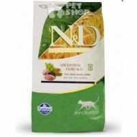 Specifiche degli alimenti secchi Farmina N&D Grain Free per gatti