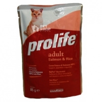 Gli alimenti umidi Prolife per gatti