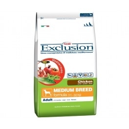 Exclusion Mediterraneo Adult Medium breed pollo 12,5 kg € 37,02