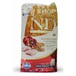 Offerta Farmina N&D Low Grain Puppy Maxi 12 kg Pollo e Melograno